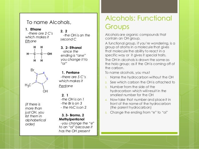 how can i identify functional groups in organic chemistry socratic