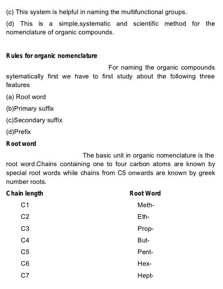organic chemistry nomenclature - Forte.euforic.co