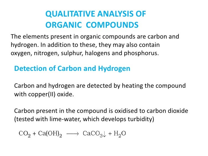 qualitative test for hydrocarbons With bromine.