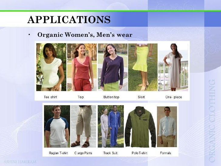 APPLICATIONS•   Herb infused organic clothing    • Each strand of yarn is infused with hand-picked natural      ingredient...