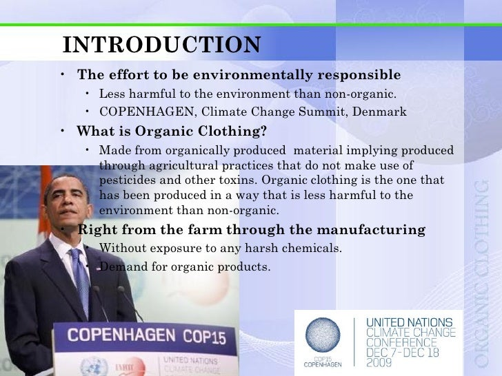 INTRODUCTION• How to identify?   • For an item to be organic, it must be grown and processed     without the use of synthe...