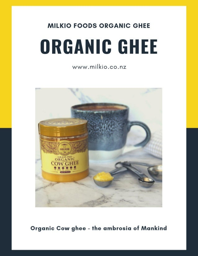 2 Organic desi ghee is a 100% natural product. It is a special quality of ghee that is certified organic. There are plenty...