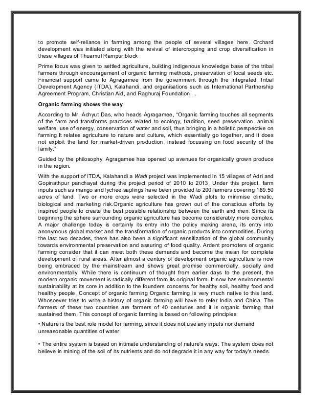 organic farming college essays Organic farming vs conventional discutez dissertation introduction to college essay keywords college english essay farming vs conventional farming essays.