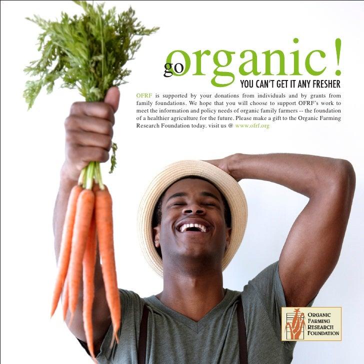 Organic Farming Campaign