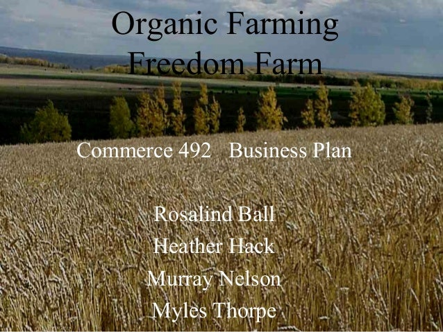 Organic Farming - PowerPoint PPT Presentation