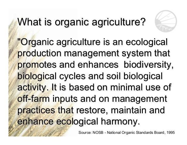 organic farming lecture notes pdf
