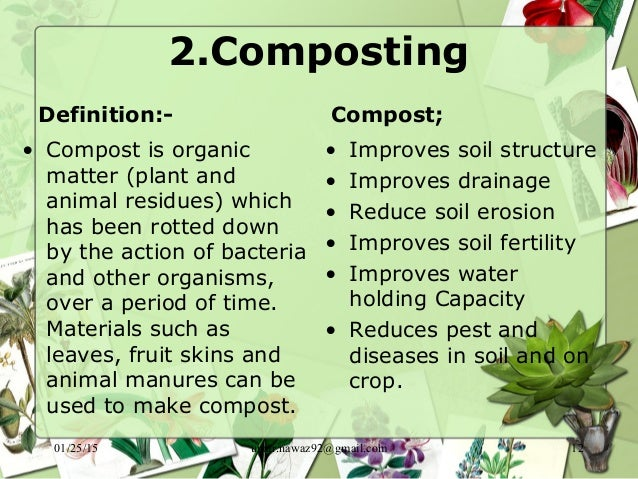 Organic farming for Organic soil definition