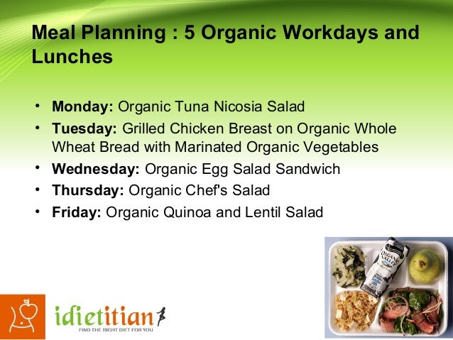 ★ Organic Diet Plan To Lose Weight