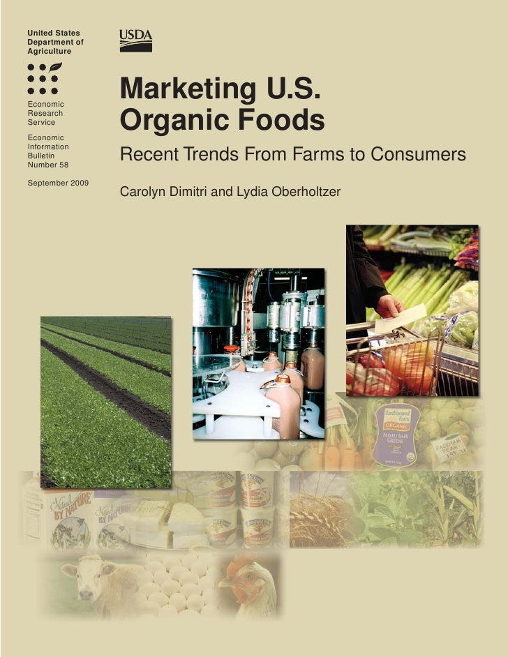 United StatesDepartment ofAgricultureEconomic                 Marketing U.S.ResearchServiceEconomic                 Organi...
