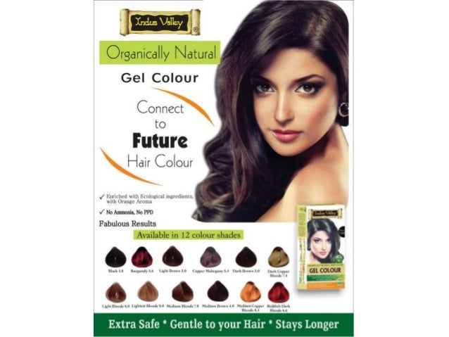 Indus Valley Natural Hair Colour