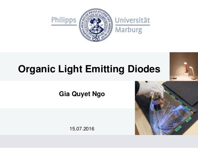 Organic light emitting diodes (oled)