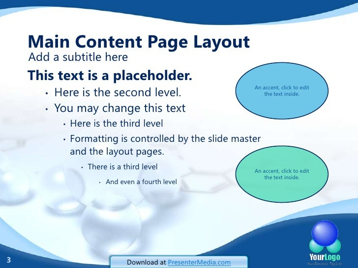 Chemistry Powerpoint Template Forteforic