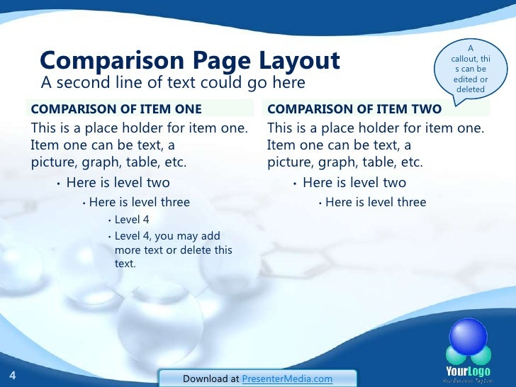 Organic Chemistry PowerPoint Template – Chemistry Powerpoint Template