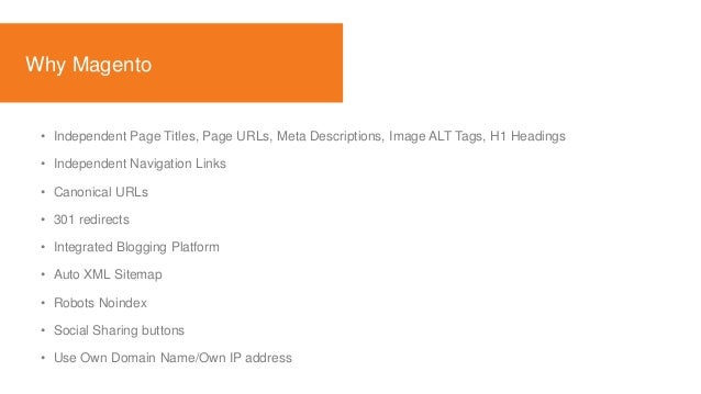 organic search in magento pushon