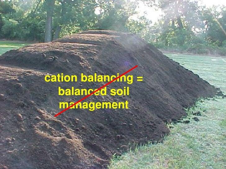 Organic soil management for Soil management