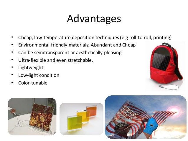 Developments In Organic Solar Cells