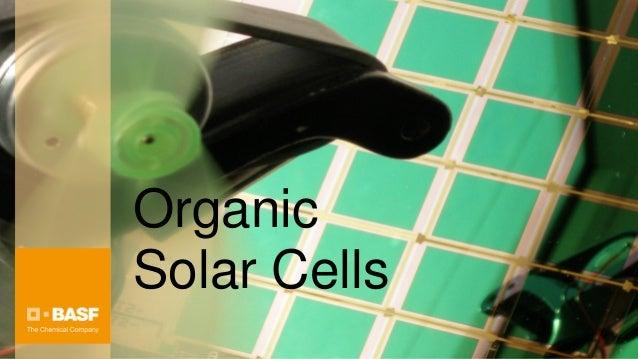 OrganicSolar Cells              1