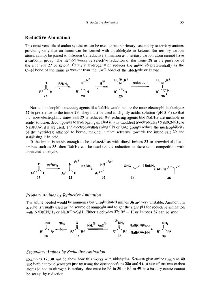 organic synthesis the disconnection approach pdf