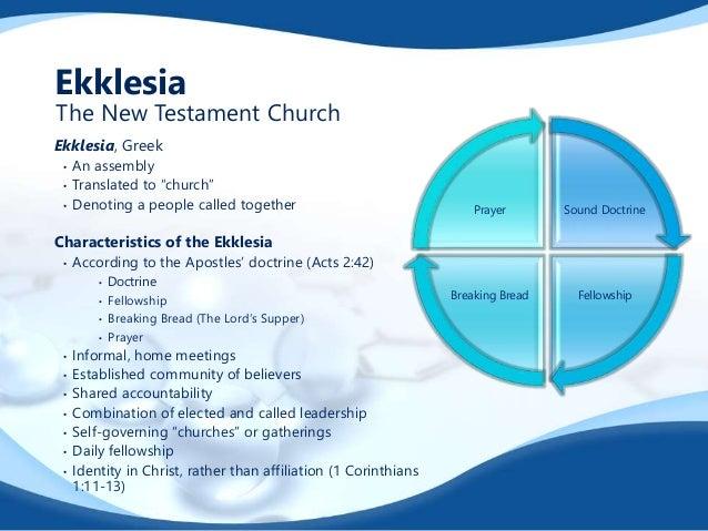 Organic Worship New Testament Fellowship