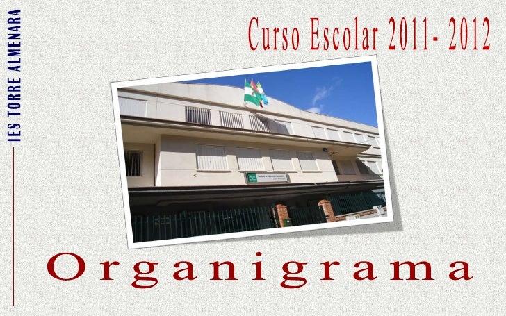 Curso Escolar 2011- 2012<br />IES TORRE ALMENARA<br />Organigrama<br />
