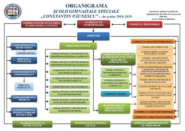 Aprobat în ședința Consiliul de Administraţie din data de 06.09.2018 Director, Prof. VASILE MARINELA COMISIAMETODICĂA PROF...
