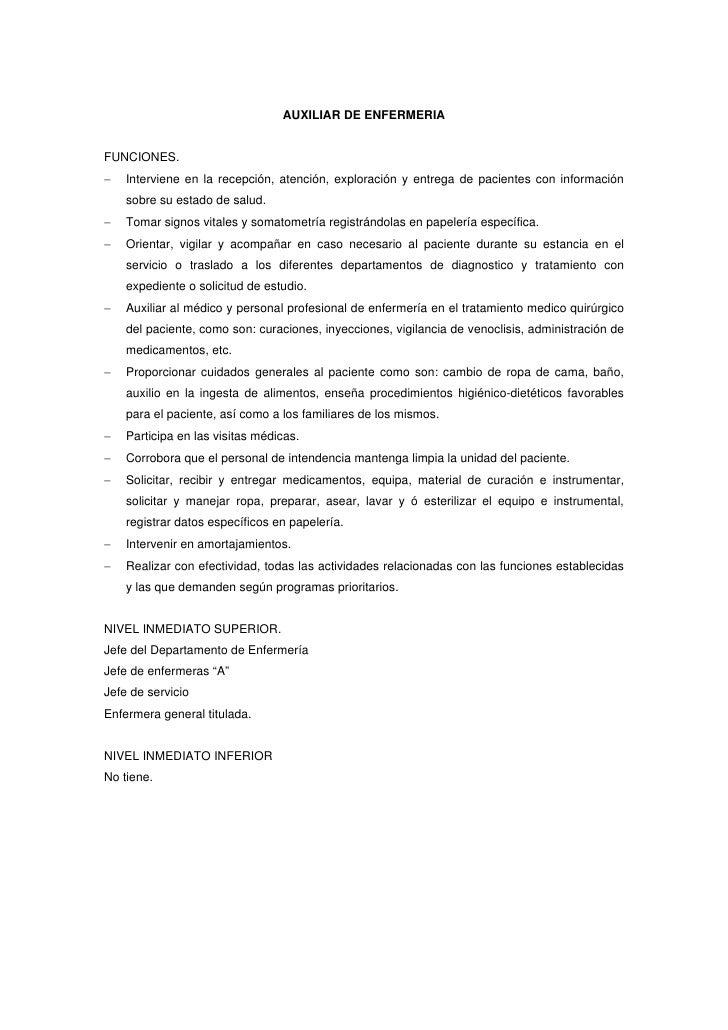 Excelente Certificado De Experiencia De Asistente De Enfermería ...