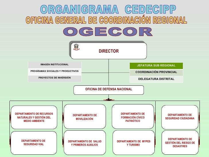 Organigramas del cedecipp for Oficina de medio ambiente
