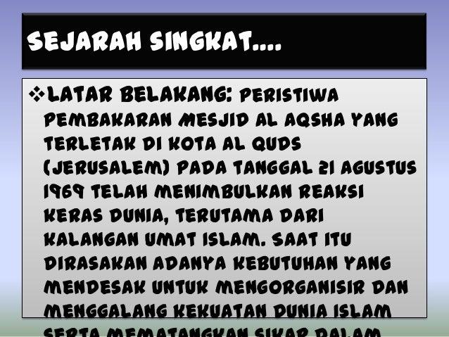 Organisasi konferensi islam Slide 3