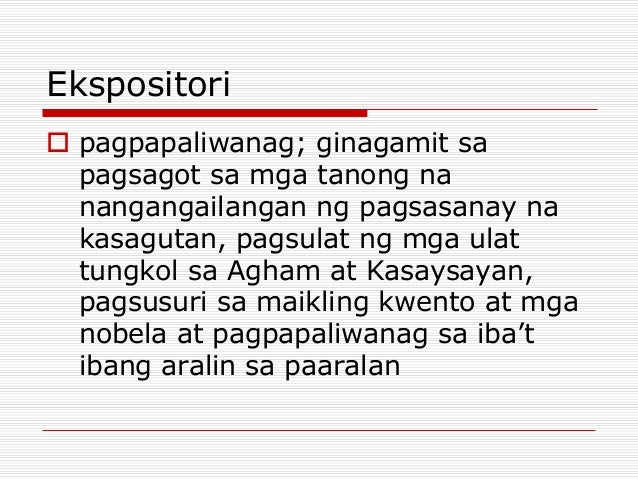 ekspositori essay If you are in college, you will be given an expository essay as a task it may seem complex, but you can always handle it if you follow the tips.