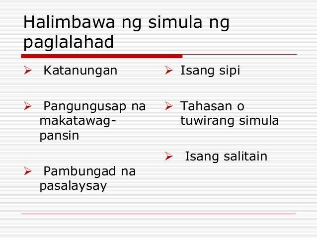 Pasalaysay O Patanong
