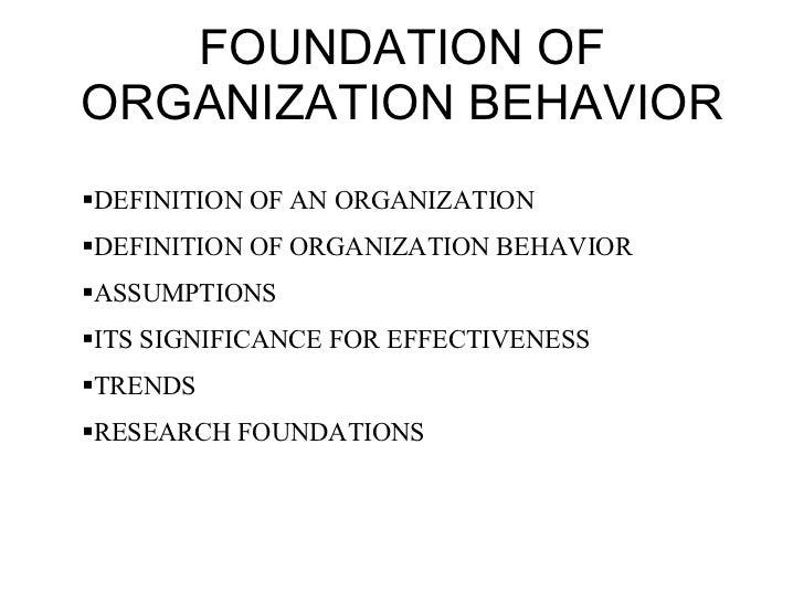 Organisation Theory Slide 3