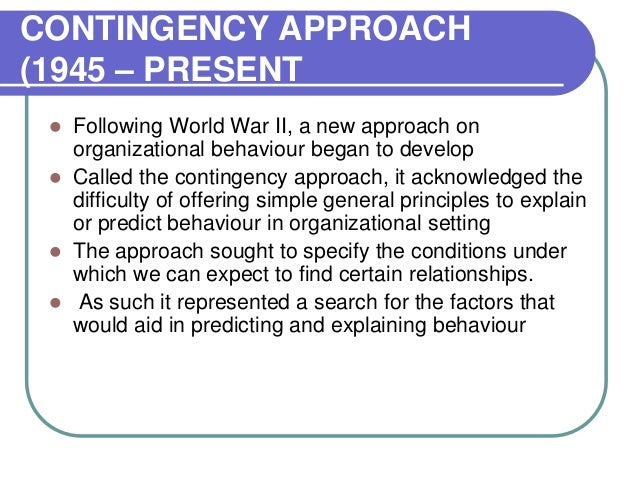 introduction to organisational behaviour School of distance education organisation behaviour 5 module 1  introduction to organizational behaviour behaviour is a way of  action.
