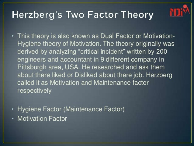 case study on maslow herzberg motivation theory Organisation theory case study – motivation at the bradley clothing company the personnel manager of the bradley clothing company, alice johnson thinks the theories of maslow and herzberg are very suitable for the management therefore, she put the theory into practice the outcome is not what she expected.
