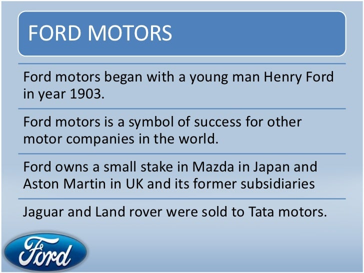tata motors organisational culture Organisational structure of ford motor company : ford's former uk subsidiaries jaguar and land rover were sold to tata motors of india in organisational culture.