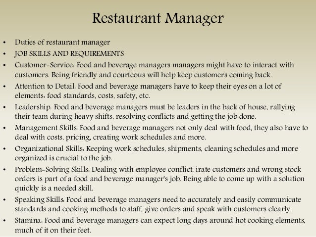 Food And Beverage Staff Jobs in Kent | Food And Beverage ...