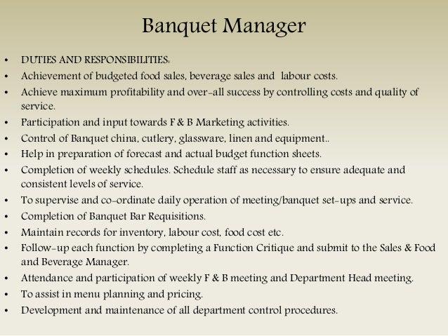 Bar Manager U2022 DUTIES ...  Bar Manager Duties