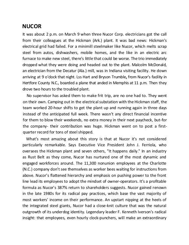 matrix organisation case studies Case study high-performing health care organization • march 2009 baylor health care system: high-performance integrated health care to m emswil e r a n d le n m ni.