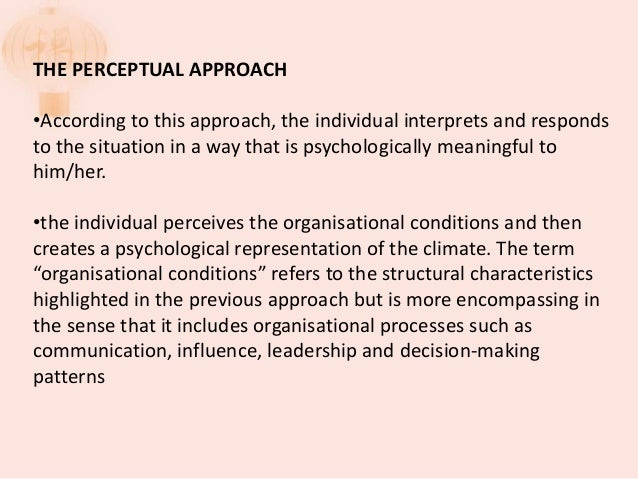 important dimensions of organizational climate include