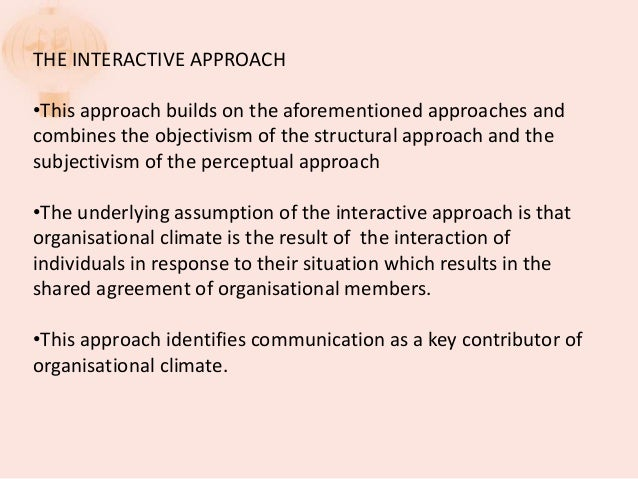 litwin stringer organizational climate questionnaire pdf