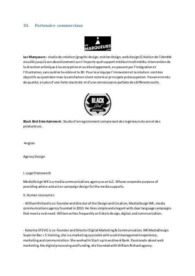 Organisation de l'agence Slide 2