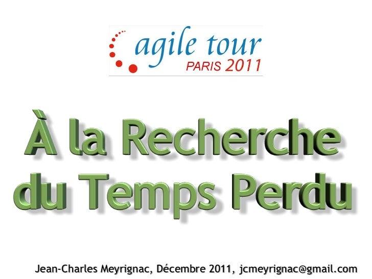 Jean-Charles Meyrignac, Décembre 2011, jcmeyrignac@gmail.com