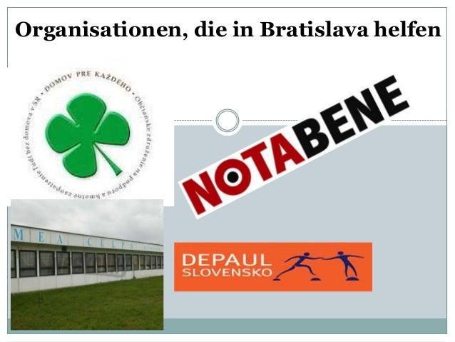 Organisationen, die in Bratislava helfen