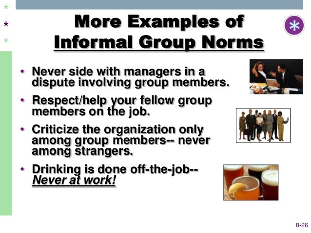 informal group examples