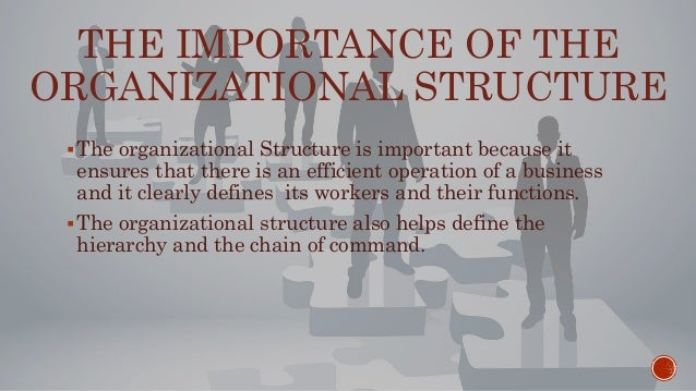 why is an organizational structure important