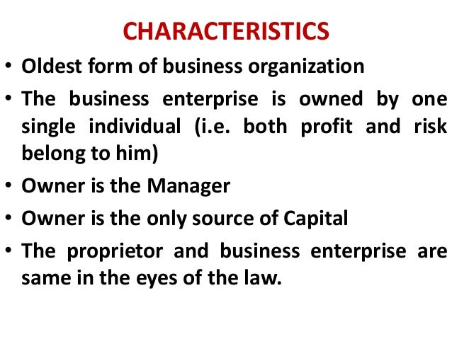 characteristics of small scale business
