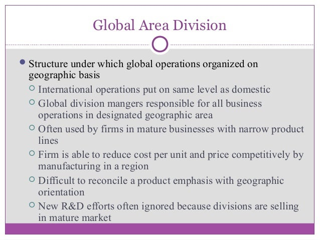 global area division structure
