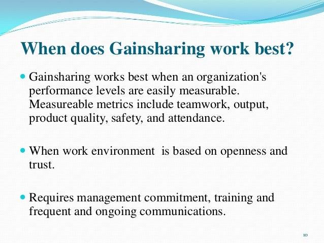 disadvantages of gainsharing