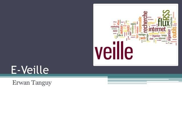E-Veille  Erwan Tanguy