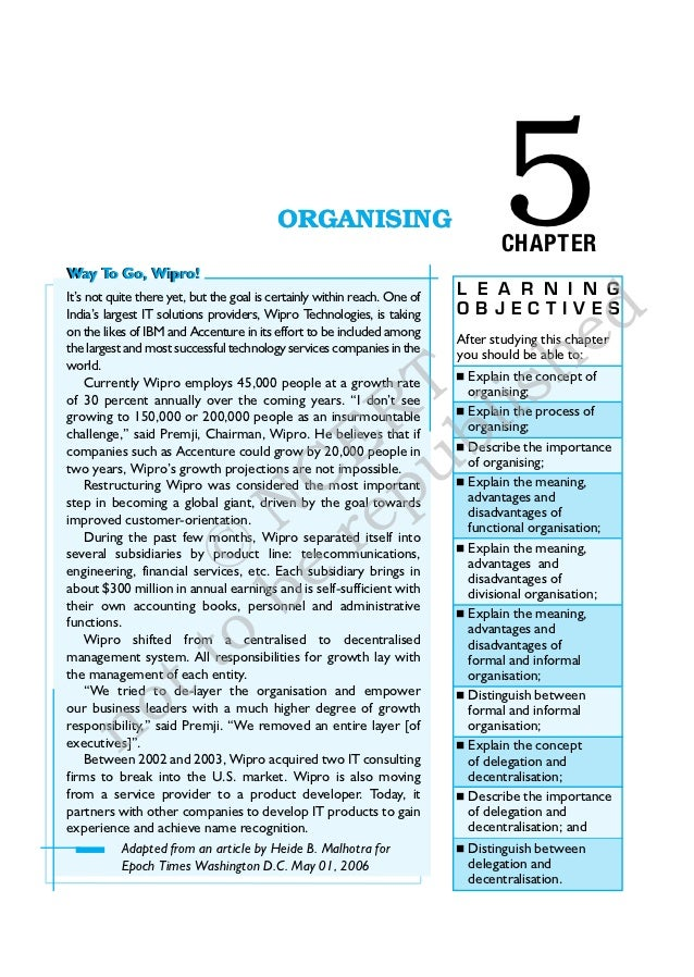 Way To Go, Wipro!                                           ORGANISING                              5                     ...