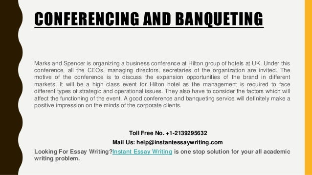 """conference and banqueting essay The conference and banqueting sector is partly seasonal in order to attend business meetings1 the term """"conference"""" can be considered as quite recent where it may not have been called the same thing concisely rehashing the assignment."""